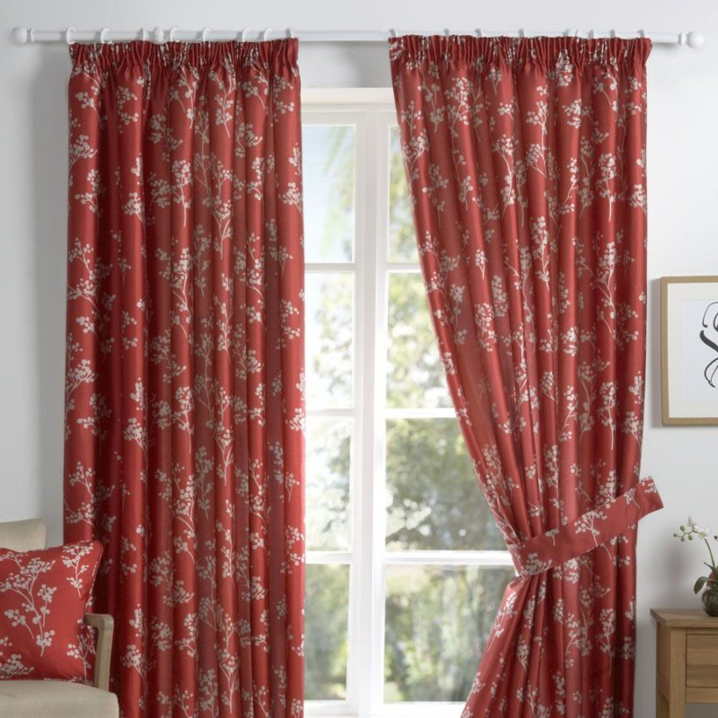 Amazon red curtains